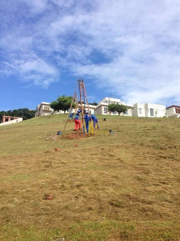 Terreno residencial à venda, Tamboré, Santana de Parnaíba.