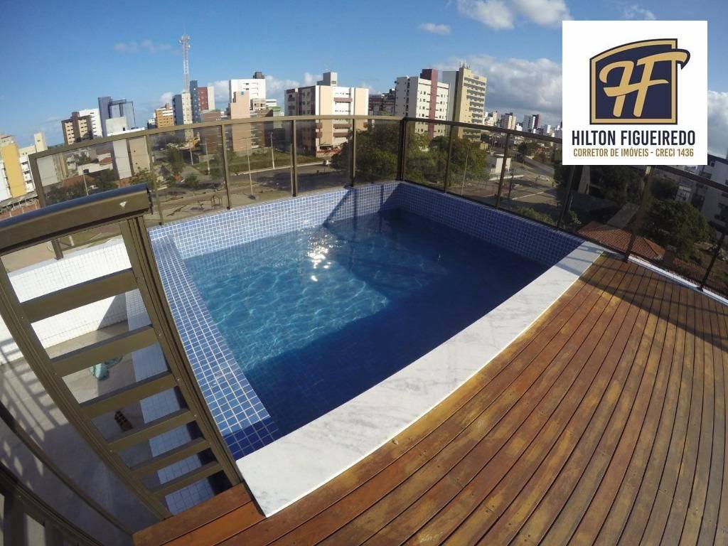 Apartamento com 2 dormitórios à venda, 56 m² por R$ 228.000,00 - Intermares - Cabedelo/PB