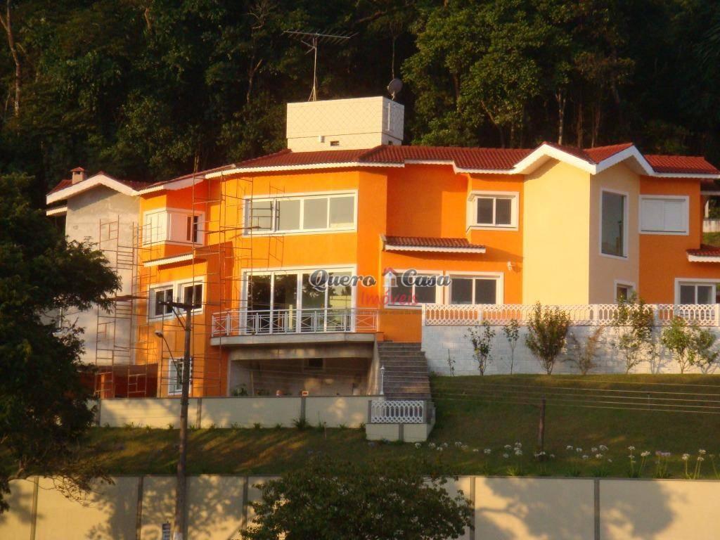 Sobrado residencial à venda, Condomínio Arujazinho III Parte