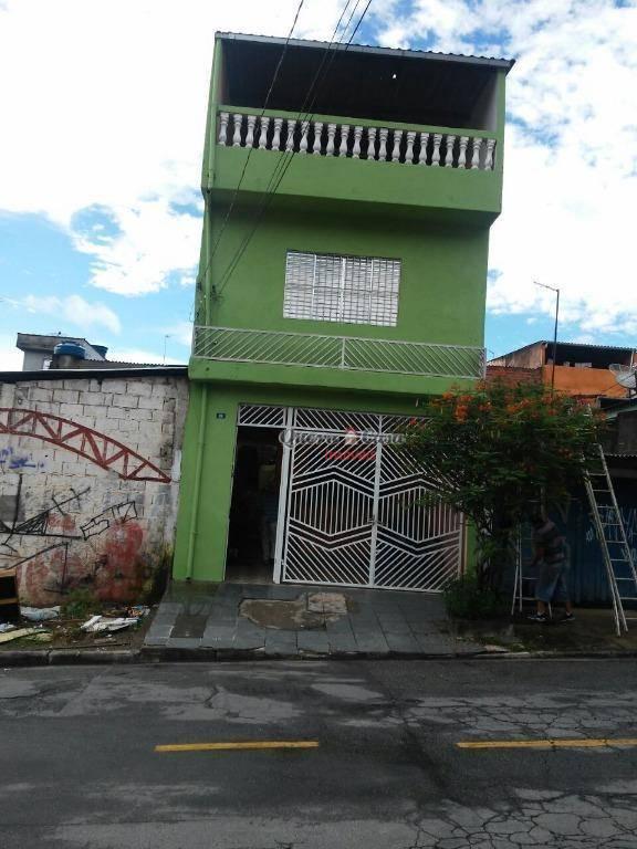 Casa com 1 dormitório para alugar, 45 m² por R$ 650/mês - Pa