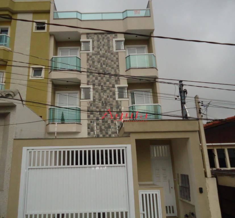 Apartamento com 2 dormitórios à venda por R$ 270.000 - Utinga - Santo André/SP