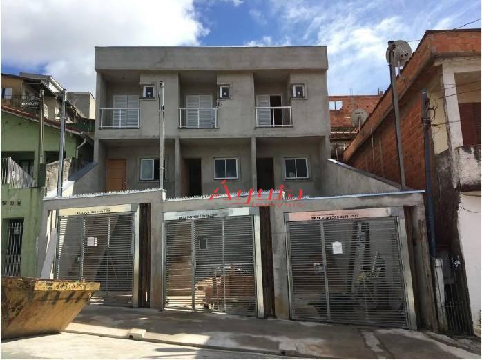 Sobrado residencial à venda, Cidade São Jorge, Santo André.