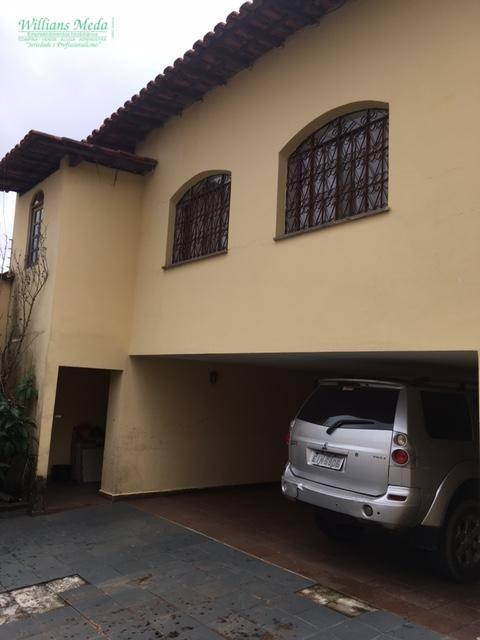 Sobrado residencial à venda, Jardim Bom Clima, Guarulhos - SO1159.