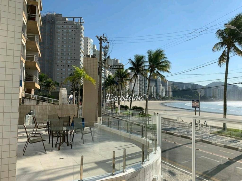 Apartamento com 3 dormitórios à venda, 85 m² por R$ 1.100.000,00 - Vila Luis Antônio - Guarujá/SP