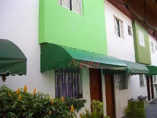 Sobrado residencial à venda, Vila João Ramalho, Santo André - SO0427.