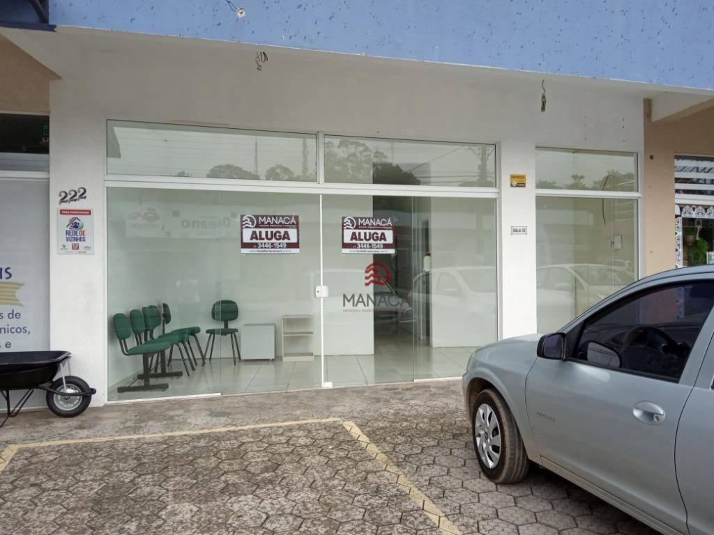 Sala para alugar, 60 m² por R$ 1.200/mês - Jardim Icaraí - Barra Velha/SC