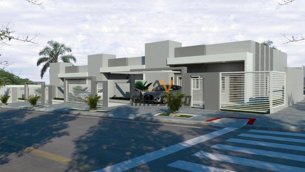 Casa com 3 dormitórios à venda, 100 m² por R$ 319.000 - Verona - Cascavel/PR