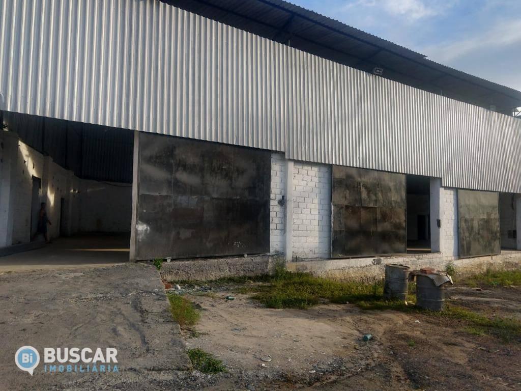 Galpão para alugar, 750 m² por R$ 3.500,00/mês - Cis - Feira de Santana/BA