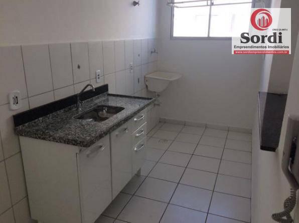 Apartamento residencial à venda, Conjunto Habitacional Jardim das Palmeiras, Ribeirão Preto.