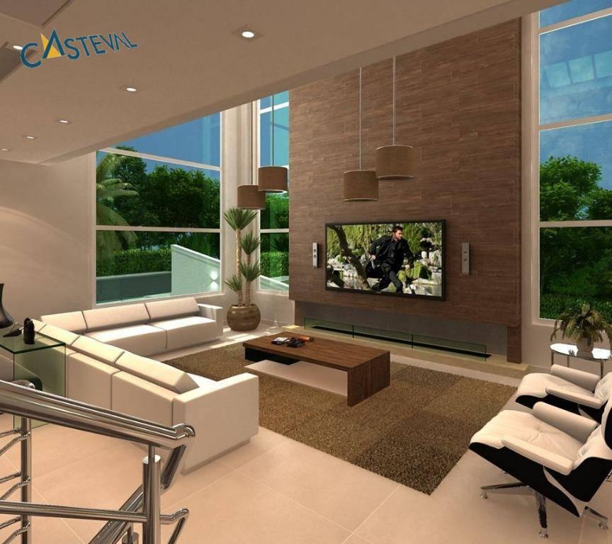 CA0114-CST, Casa de 4 quartos, 423 m² à venda no Santa Felicidade - Curitiba/PR