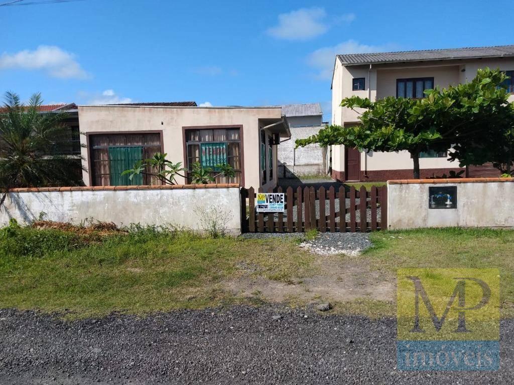 Casa com 2 dormitórios à venda, 60 m² por R$ 165.000,00 - Barra do Itapocú - Araquari/SC
