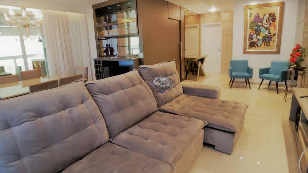 Apartamento 4 Suítes, 189 m², semi mobiliado, na Graciosa - Excellence Tower