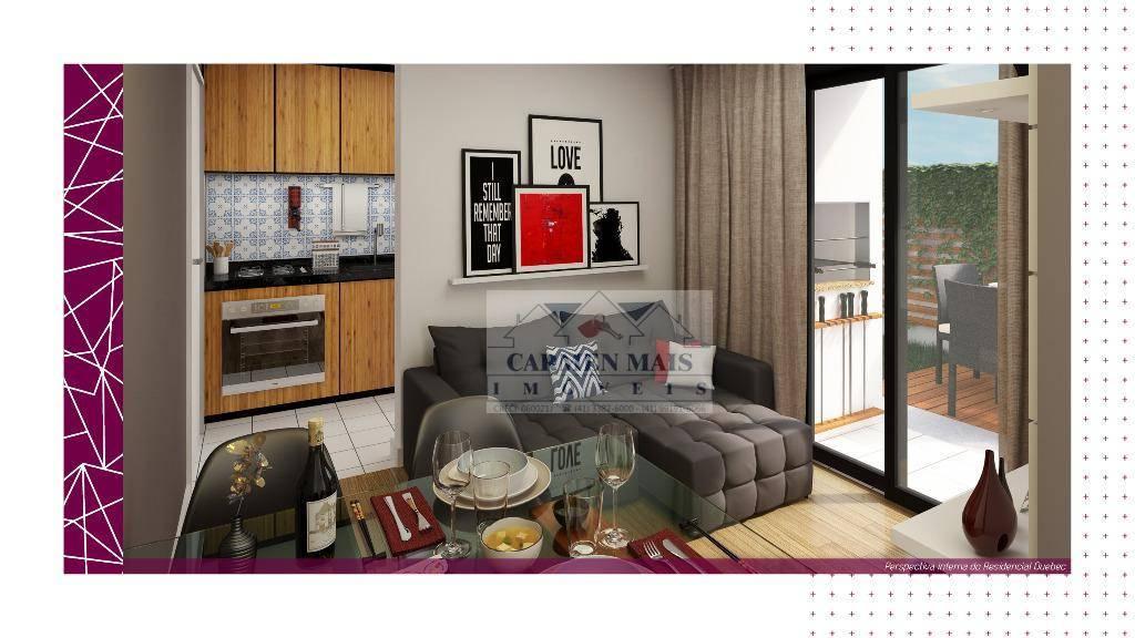 Apartamento residencial à venda, Centro, Campo Largo.
