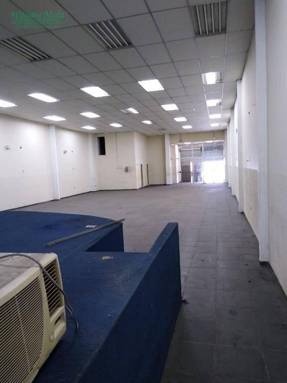 Salão para alugar, 350 m² por R$ 5.300/mês - Jardim Presidente Dutra - Guarulhos/SP