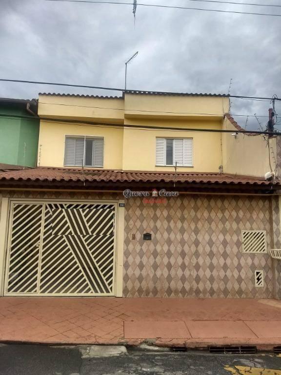 Sobrado residencial à venda, Jardim Divinolândia, Guarulhos.