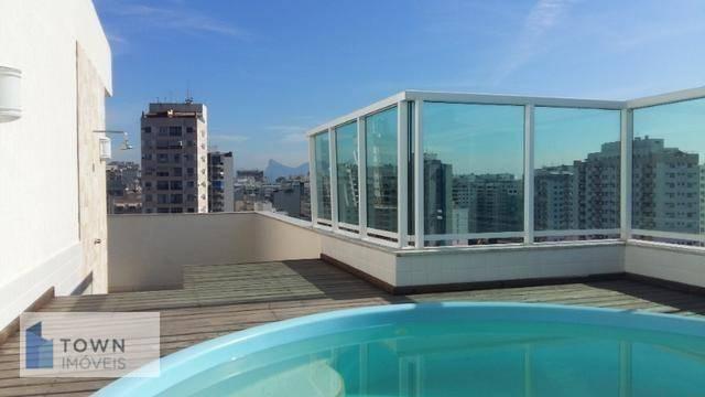 Cobertura com 3 dormitórios à venda, 195 m² por R$ 1.200.000 - Santa Rosa - Niterói/RJ