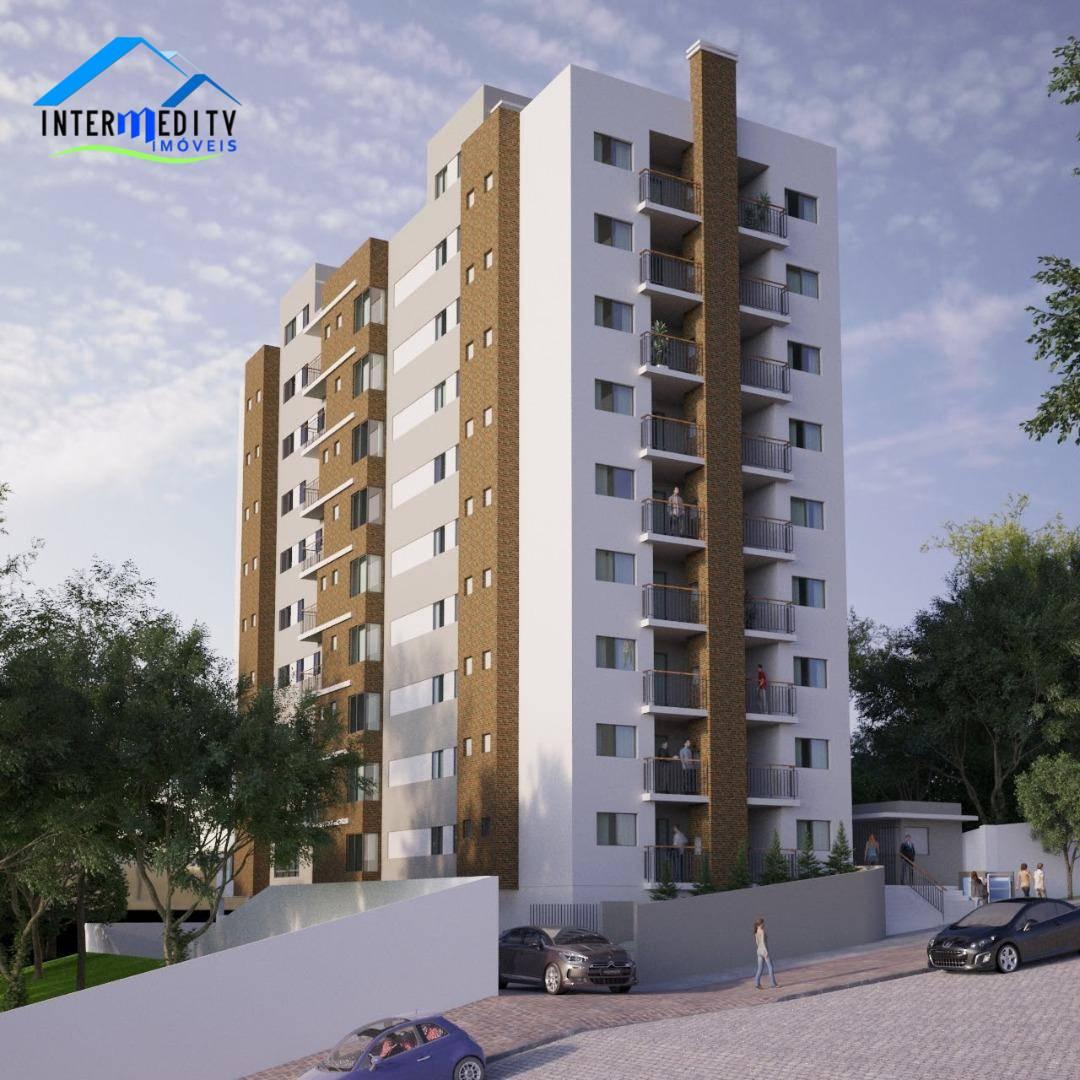 Apartamento com 2 dormitórios à venda por R$ 295.900,00 - Centro - Campo Largo/PR