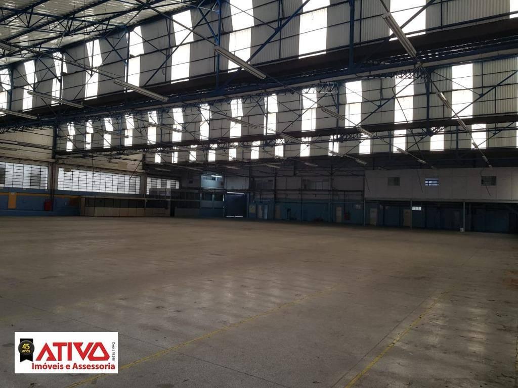Galpão para alugar, 4314 m² por R$ 50.000,00/mês - Jardim Recanto - Diadema/SP