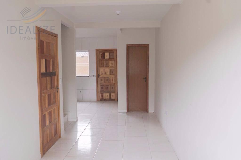 Sobrado residencial à venda, Tatuquara, Curitiba.