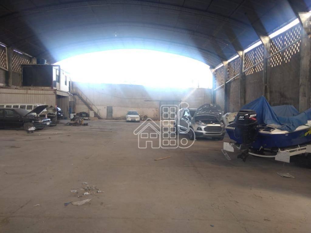 Galpão à venda, 993 m² por R$ 2.500.000 - Centro (Manilha) - Itaboraí/RJ