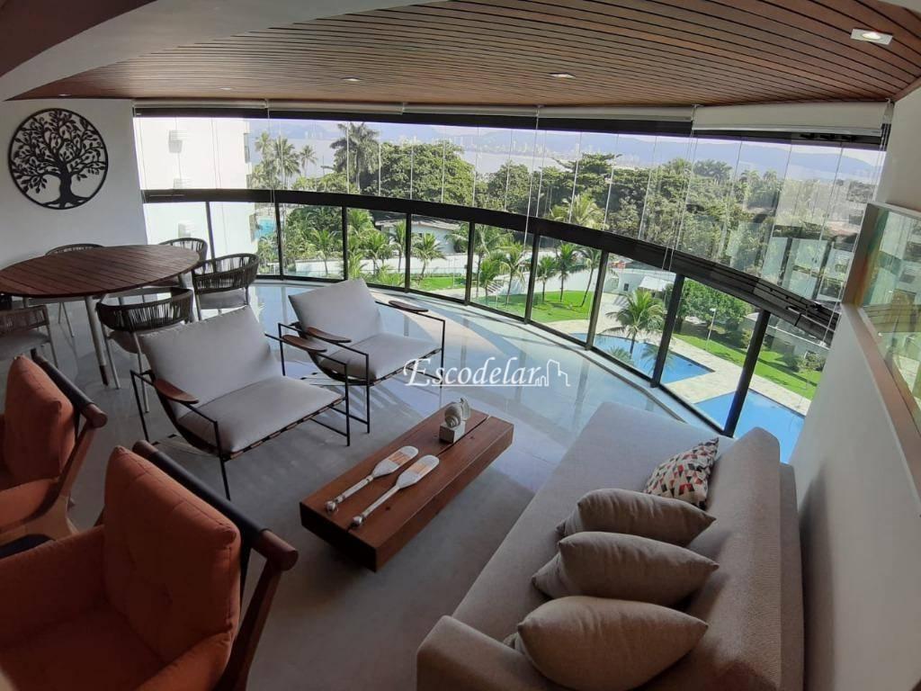 Apartamento à venda, 226 m² por R$ 2.150.000,00 - Jardim Belmar - Guarujá/SP