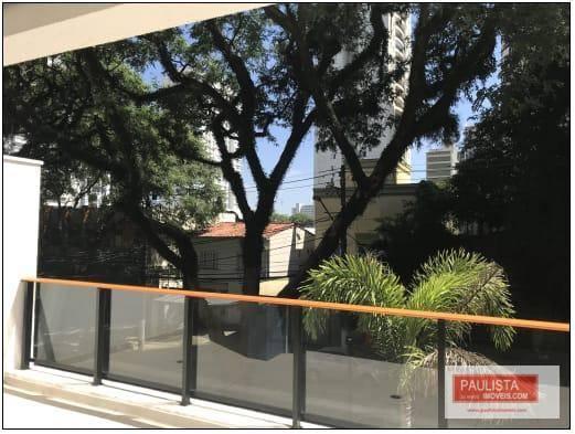 Apartamento Garden com 1 dormitório à venda, 89 m² por R$ 880.000 - Alto da Boa Vista - São Paulo/SP
