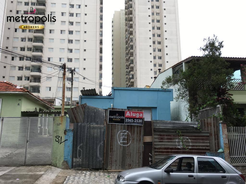 Terreno para alugar, 320 m² por R$ 5.000,00/mês - Olímpico - São Caetano do Sul/SP