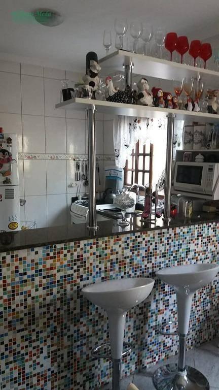Sobrado com 3 dormitórios à venda, 141 m² por R$ 650.000 - Vila Progresso - Guarulhos/SP