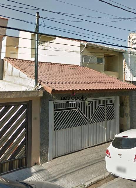 Sobrado com 2 dormitórios à venda, 180 m² por R$ 950.000 - Santa Paula - São Caetano do Sul/SP