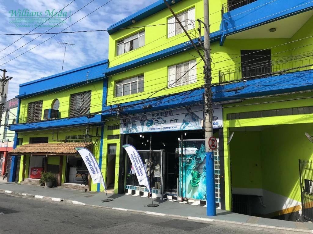 Sala para alugar, 144 m² por R$ 1.600/mês - Vila Rachid - Guarulhos/SP