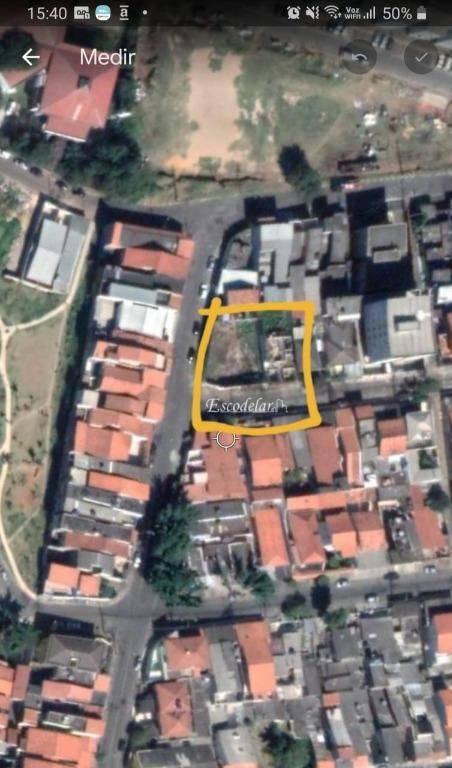 Terreno à venda, 690 m² por R$ 1.300.000,00 - Jardim Santa Cecília - Guarulhos/SP