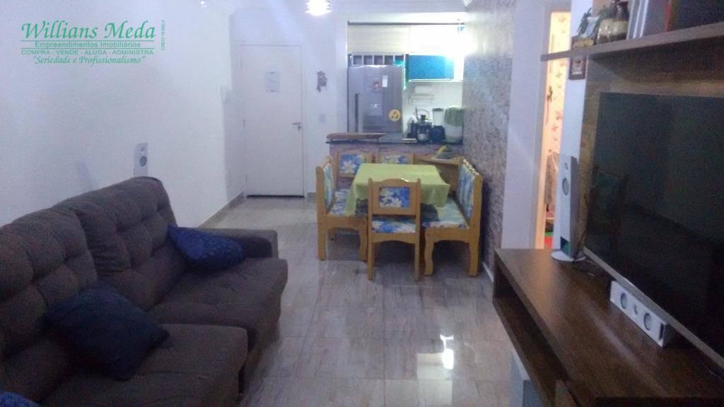 Apartamento residencial à venda, 2 dormitórios sendo 1 suíte, 1 vaga. Vila Rosália, Guarulhos.