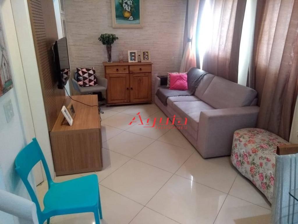 Sobrado à venda, 90 m² por R$ 320.000 - Parque João Ramalho - Santo André/SP
