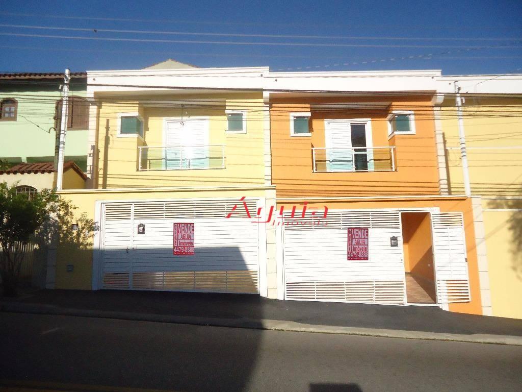 Sobrado residencial à venda, Parque das Nações, Santo André.