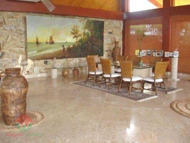 sobrado à venda no jardim acapulco em guarujá, sala 3 ambientes com lavabo, jardim de inverno,...