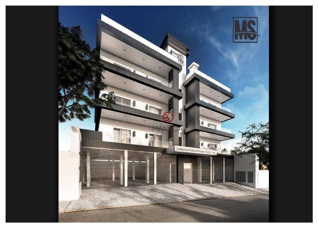 Apartamento com 2 dormitórios à venda, 83 m² por R$ 295.000 - Itajuba - Barra Velha/SC