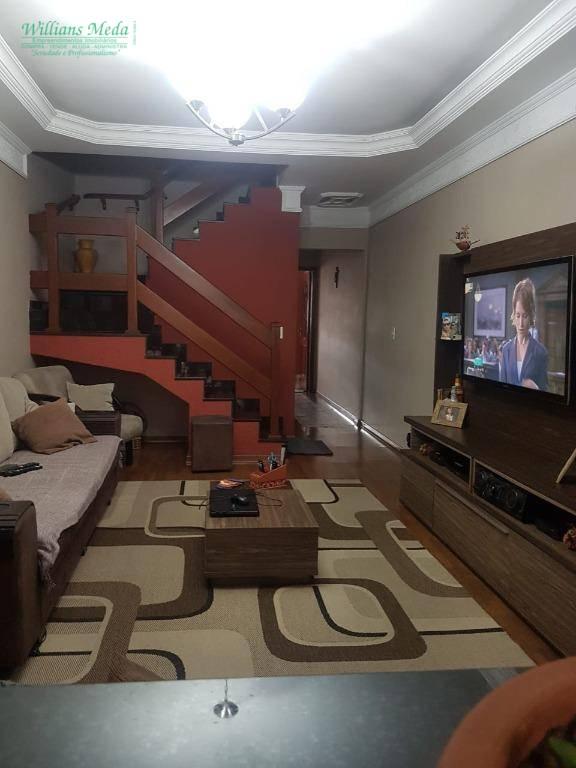 Sobrado com 3 dormitórios à venda, 200 m² por R$ 780.000,00 - Jardim Zaira - Guarulhos/SP
