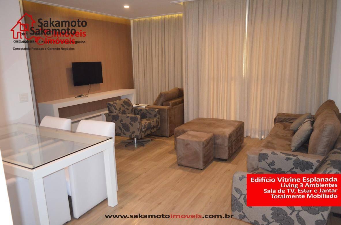 Apartamento residencial para venda e locação, Parque Campolim, Sorocaba - AP1356.