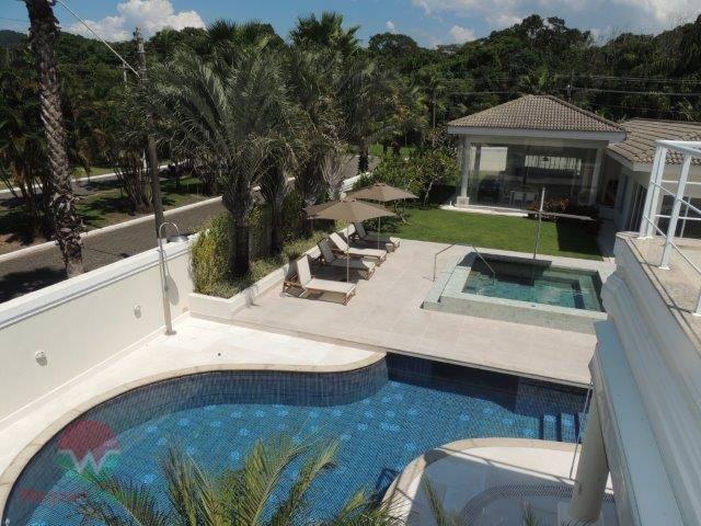 sobrado à venda no jardim acapulco em guarujá, sala 3 ambientes com lavabo, 6 suítes com...