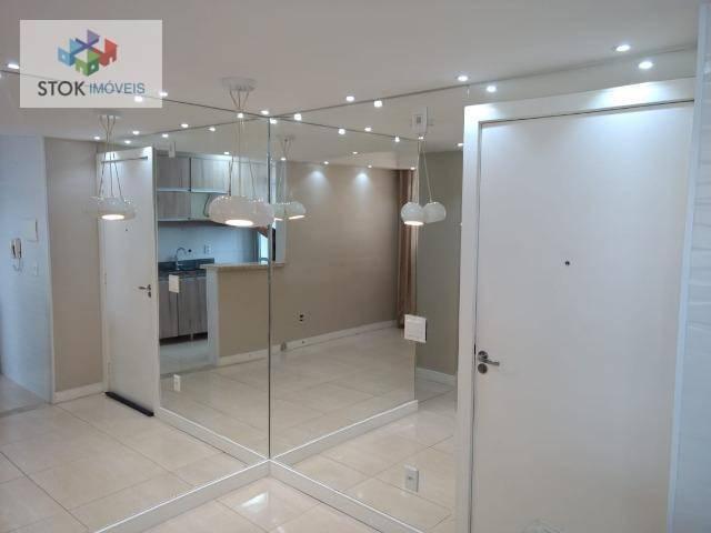 Apartamento com 2 dormitórios para alugar, 48 m² por R$ 1.800/mês - Gopoúva - Guarulhos/SP