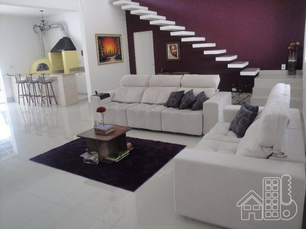Casa residencial à venda, Pimenteiras, Teresópolis.