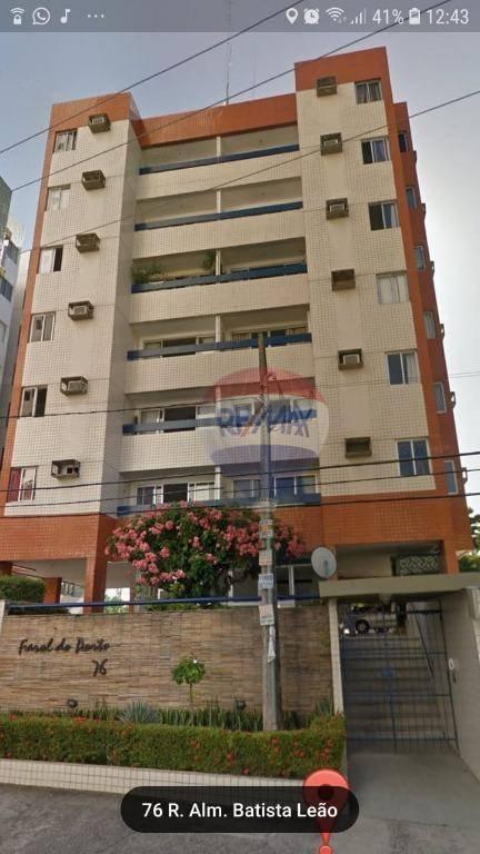 alugo apartamento 3 quartos, 2 vagas em Boa Viagem/Setúbal