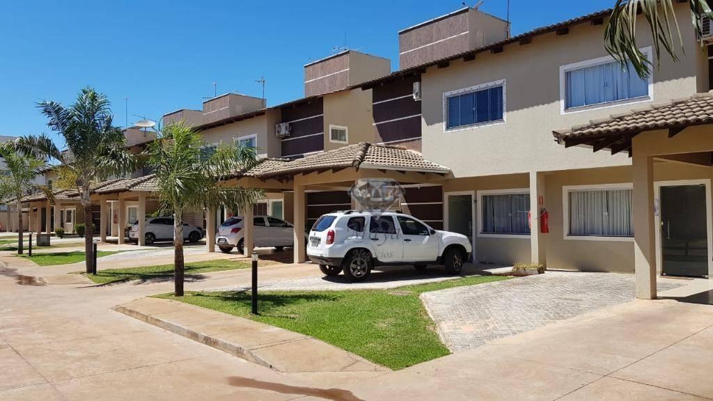 Sobrado 3 Suítes, 161 m² c/ armários na 405 Sul - Condomínio Cotovia