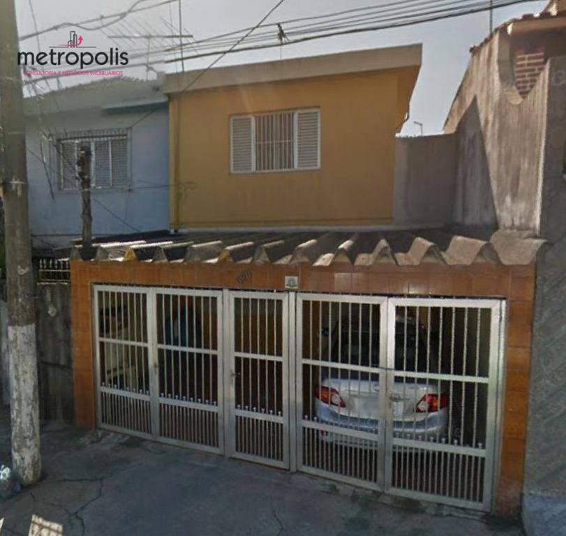 Sobrado residencial à venda, Vila Palmares, Santo André.