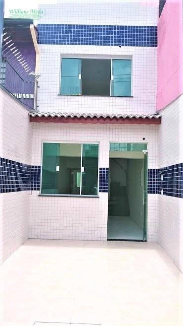 Sobrado Comercial com 4 dormitórios para alugar, 111 m² por R$ 3.350/mês - Vila Galvão - Guarulhos/SP