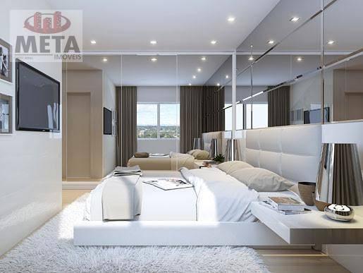 Apartamento com 3 Dormitórios à venda, 98 m² por R$ 670.418,67