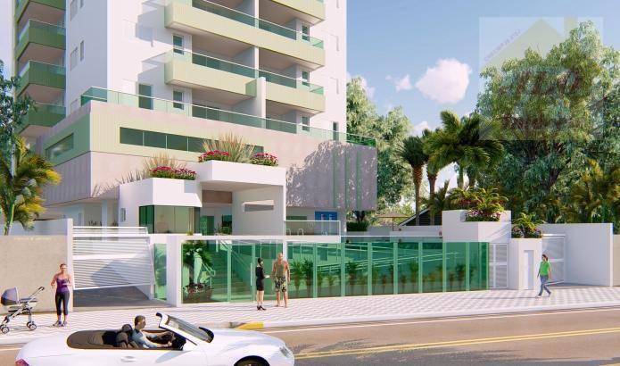 Apartamento à venda, 73 m² por R$ 394.632,00 - Vila Atlântica - Mongaguá/SP