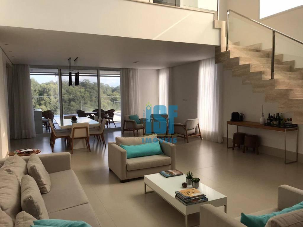 Sobrado com 4 dormitórios à venda, 470 m² por R$ 3.700.000 - Tamboré - Santana de Parnaíba/SP - SO5655.