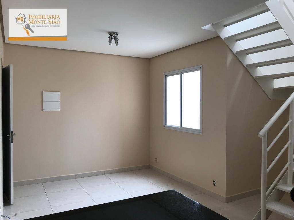 Cobertura com 3 dormitórios à venda, 129 m² por R$ 650.000 - Vila Augusta - Guarulhos/SP