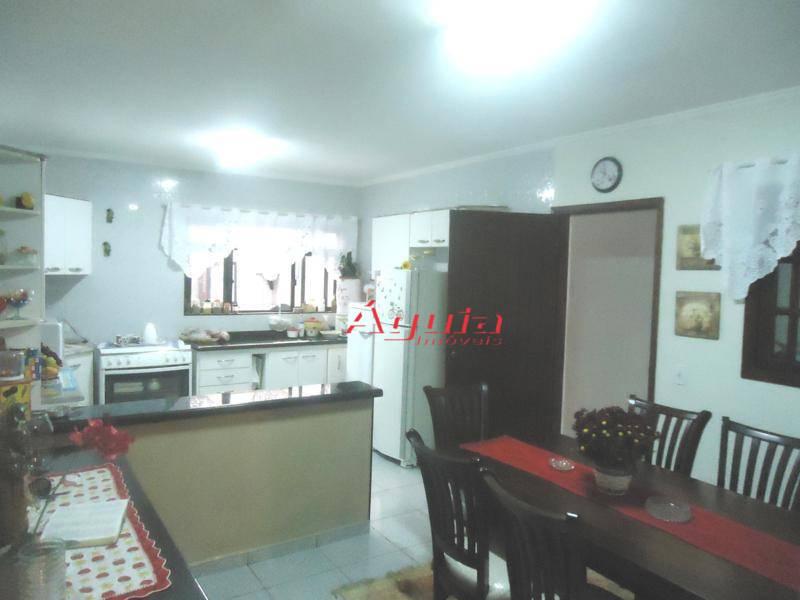 Sobrado Residencial à venda, Vila Camilópolis, Santo André - SO0360.